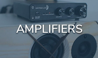Dayton Audio amplifiers