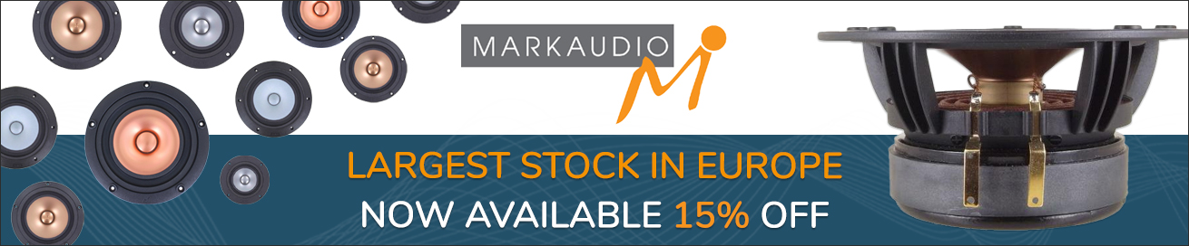 Largest stock of Markaudio products