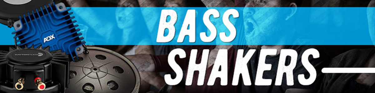 Shake It Up with Bass Shakers at Parts Express
