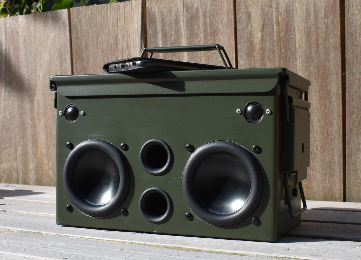 SoundImports  DIY Project Ammo-Can Speaker - SoundImports