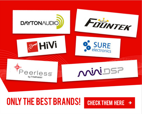 SoundImports.eu | Your supplier of DIY audio components in Europe banner 1